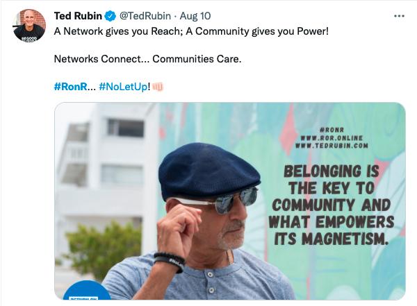 Ted Rubin - Return on Relationship