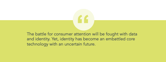 The battle for consumer attention will be fought with data and identity
