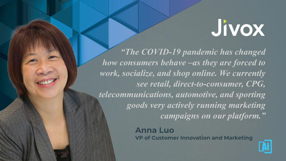 AiThority Interview with Anna Luo, VP of Customer Innovation and Marketing at Jivox